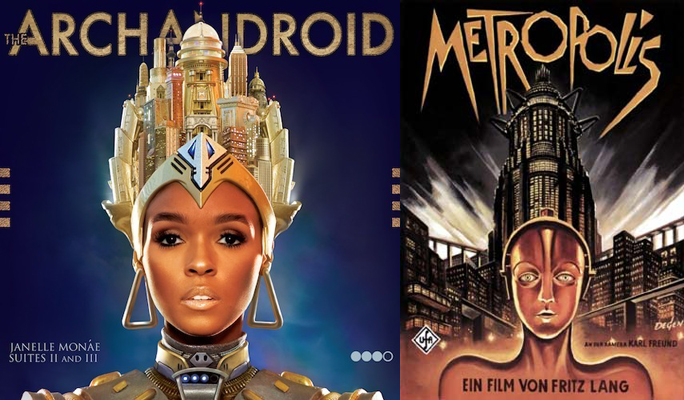 janellemonae metropolis Five Reasons Janelle Monáe Isnt Your Average Sci Fi Fan