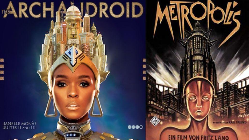 janellemonae metropolis Five Reasons Janelle Monáe Isnt Your Average Sci Fi Fan